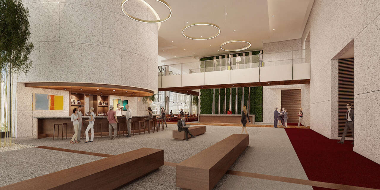 ... rebrand their lobby area. The team at Dimit Architects will work through several concepts in order to create the ideal front door for your organization. & Lobby Renovations - Dimit Architects