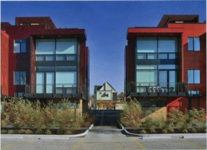Architectural Record - 27 Coltman Townhomes - Dimit Architects